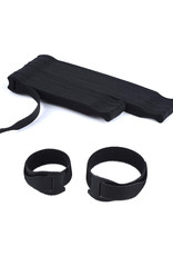 """60PCS Black Reusable Cable Ties, Cable Management Assorted 6 inch and 8 inch (30pcs 6"""" & 30pcs 8"""")"""