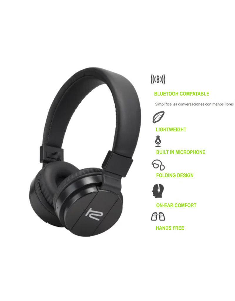 Klip Klip Wireless Bluetooth On-Ear Headset KHS-620BK
