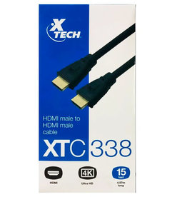 Xtech Xtech HDMI 15FT Cable XTC 338