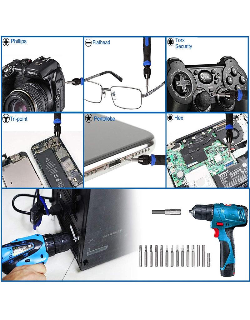 Kaisi 136 in 1 Electronics Repair Tool Kit Professional Precision Screwdriver Set
