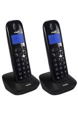 Vtech Vtech Telephone Cordless VT680-2 Black DUO