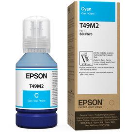Epson Epson T49M220 Cyan Ink Bottle for F170 140ml