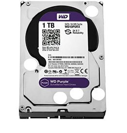 WD Western Digital 1TB 64MB Purple Hard Drive WD10PURZ