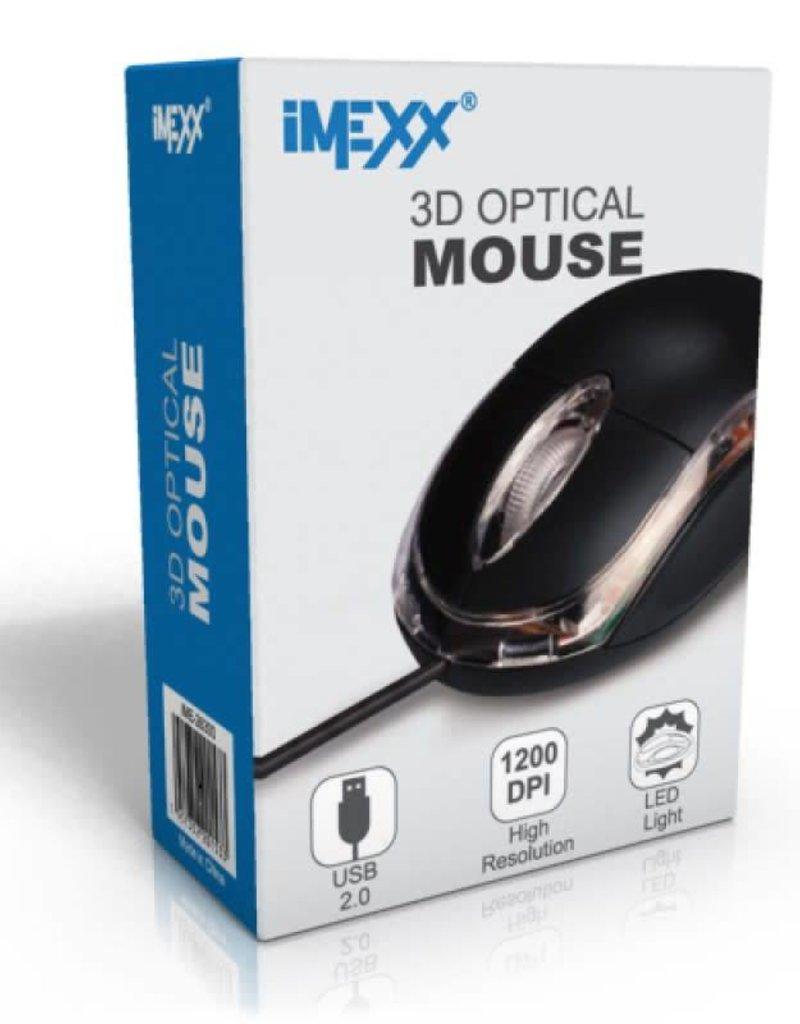 IMEXX IMEXX 3D Optical Mouse 1200DPI IME-26300