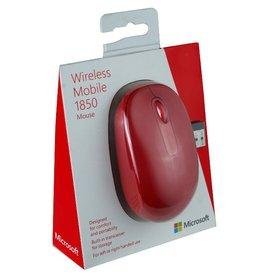 Microsoft Microsoft Wireless Mouse 1850 Flame Red U7Z-00031