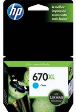 HP HP 670XL Cyan Ink