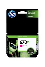 HP HP 670XL Magenta Ink