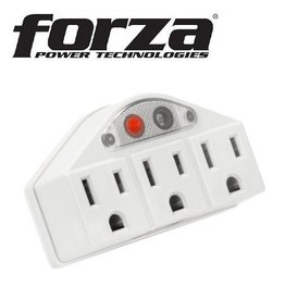 Forza Forza 3-Outlet Wall Tap FWT-635