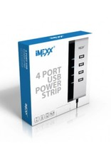 IMEXX IMEXX 4 Port USB Power Strip IME-41405