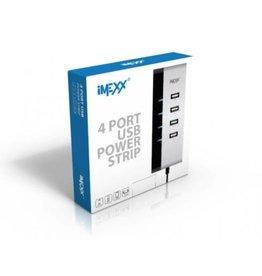 IMEXX IMEXX 4 Port USB Power Strip IME-41405