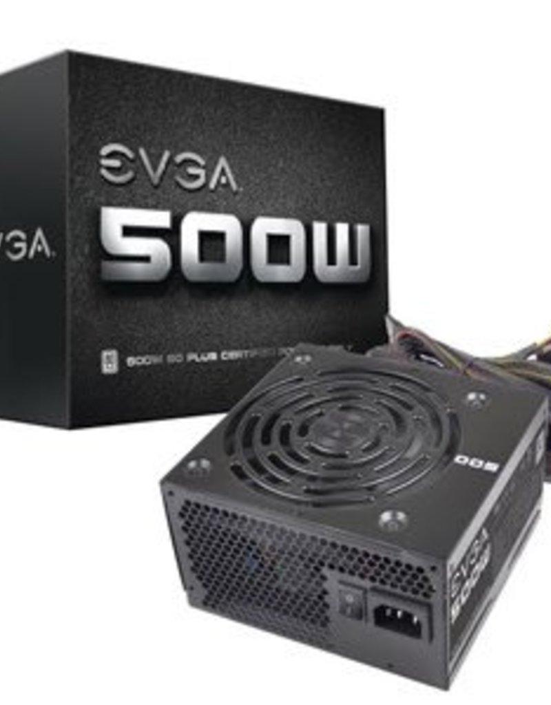 EVGA EVGA 500W 80 Plus Power Supply 100-W1-0500-KR