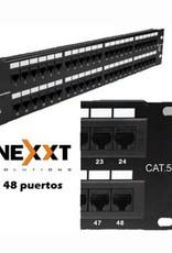 Nexxt Nexxt 48 Port Patch Panel AW190NXT11 CAT 5