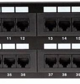 Nexxt Nexxt 48 Port Patch Panel AW191NXT11 CAT6