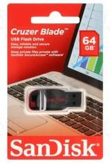 Sandisk Sandisk 64GB Cruzer Blade USB Flash Drive SDCZ50-064G-B35