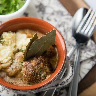 TERESA's Food Meatballs & Mushroom Gravy
