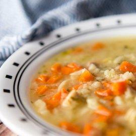 TERESA's Food Chicken Pasta Soup