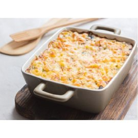TERESA's Food Pasta and Cheese Casserole