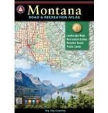 Benchmark Maps Montana Road & Recreation Atlas