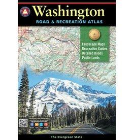 Benchmark Maps Washington Road & Recreation Atlas