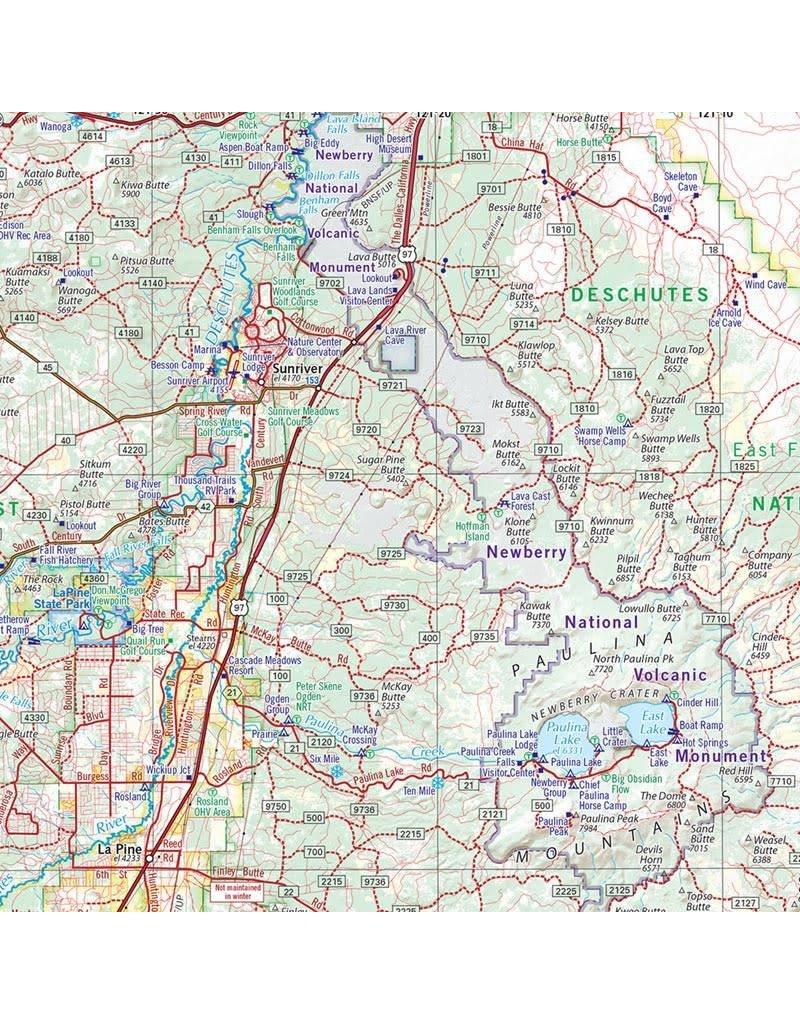 Benchmark Maps Oregon Road & Recreation Atlas