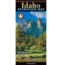 Benchmark Maps Idaho Recreation Map