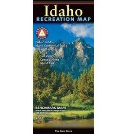 Benchmark Maps Idaho recreation Map-BM