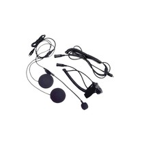 Closed Faced Helmet Headset w/Boom Microphone