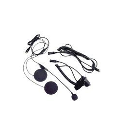 Midland Radio Corporation Closed Faced Helmet Headset w/Boom Microphone