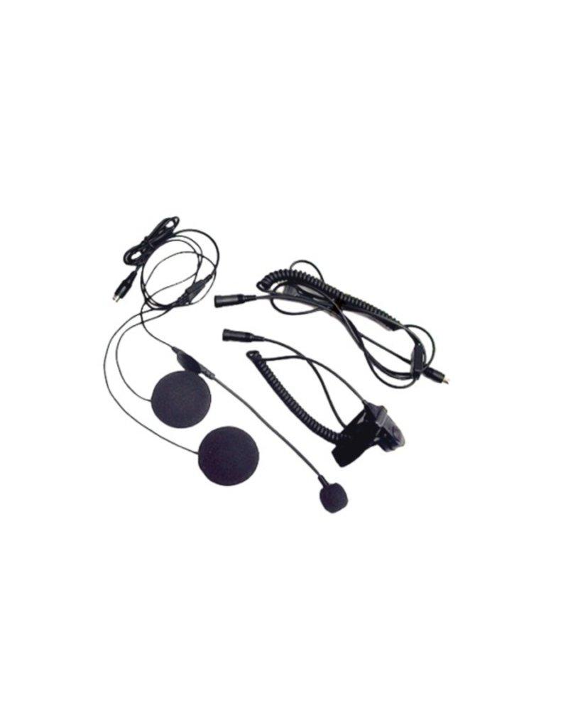 Midland Radio Corporation Closed Faced Helmet Headset w/Boom Microphone