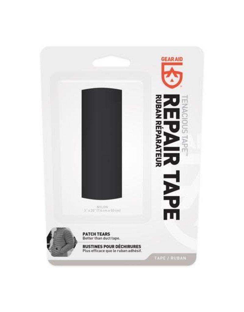 "Gear Aid (McNett Corporation) GA TENACIOUS CLEAN TAPE 3"" x 20"" - Black"