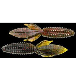 "Reaction Innovations Reaction DWB-008 Double Wide Beaver Creature Bait, 5.2"", California 420"