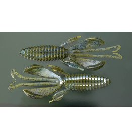 "Reaction Innovations Reaction KBV-017 Kinky Beaver Creature Bait, 5"", Magic Craw Swirl"