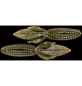"""Reaction Innovations Reaction SMB-033 Smallie Beaver Creature Bait, 3 1/2"""", Green Goby"""