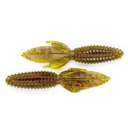 """Reaction Innovations Reaction SWB-006 Sweet Beaver Creature Bait, 4.2"""", Watermelon Red"""