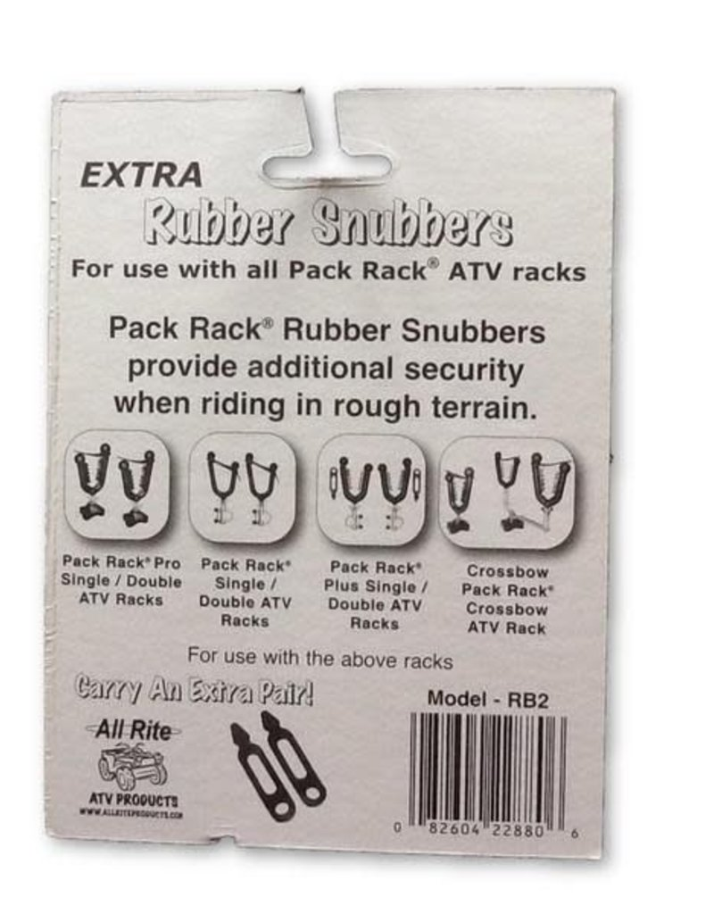 All Rite Products, Inc. All Rite: Extra Rubber Snubbers