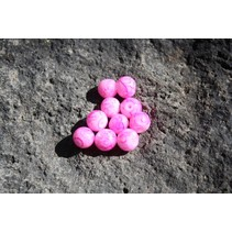 Bead, 10mm, Blood Vein Pink, 15/Pack
