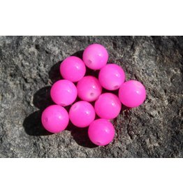 Hevi Beads UV Bead, 8mm Ultra Roe Violet Pink, 15/Pack