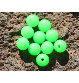 Hevi Beads Lite-UV Bead, 8mm Atomic Green, 20/Pack
