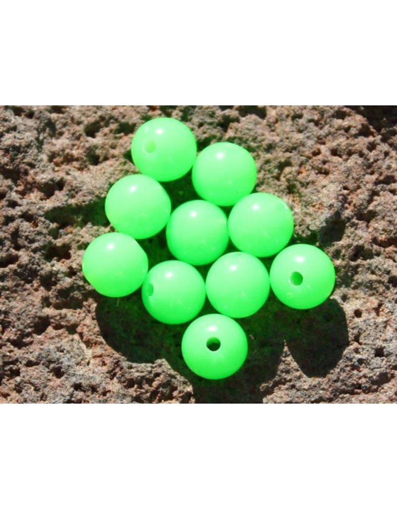 Hevi Beads Lite-UV Bead, 8mm Atomic Green, 20/Pack