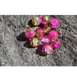 Hevi Beads UV Bead, 8mm Steelhead Candy, 15/Bag