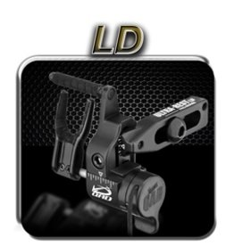 Quality Archery Design Ultra Rest Pro Series LD BLK Right Hand
