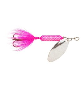 Yakima Bait Company 208 PK Worden's Y/BAIT 1/8 ROOSTERTAIL, PINK -Top Seller