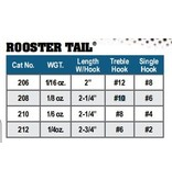 Yakima Bait Company ROOSTER TAIL 1/4 OZ