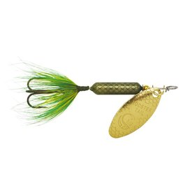 Yakima Bait Company 208 FR Worden's Y/BAIT 1/8 ROOSTERTAIL, FROG  -Top Seller