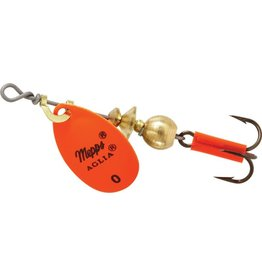 Mepps Mepps B0 HO Aglia In-Line Spinner 1/12 oz, Plain Treble Hook, Hot