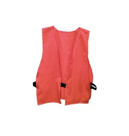 Primos 6365 Primos SAFETY VEST, HUNTER ORANGE, ADULT SIZE, LOGO ON BACK, POLY BAG