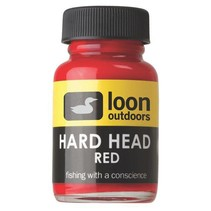 Hard Head Fly Finish Red Thick Head Cement