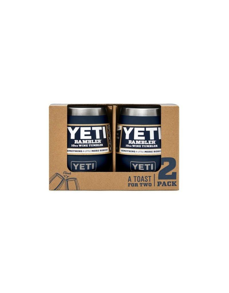 Yeti Rambler 10 oz Wine 2 Pack Navy