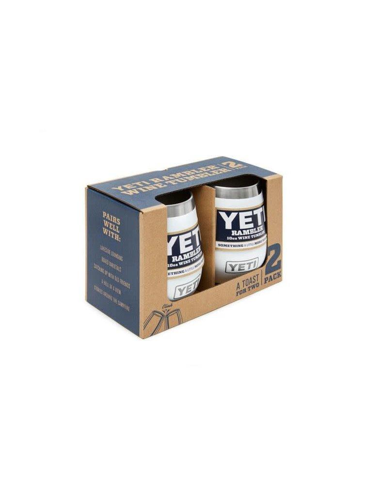 Yeti Rambler 10 oz Wine 2 Pack White