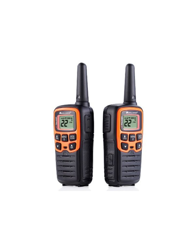 Midland Radio Corporation 28 Mile Two-Way Radio Black/Orange